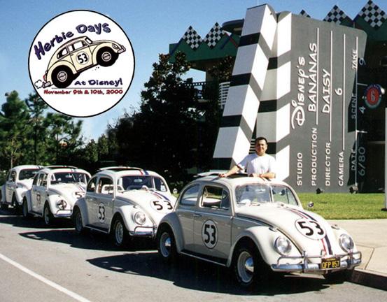Herbie Days At Disney 2000 THE LOVE BUG Resort Page